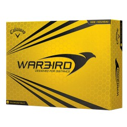 Callaway Hex Warbird Yellow Logo Golf Balls