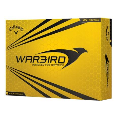 Callaway Hex Warbird Yellow Logo Golf Balls