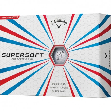 Callaway Supersoft Logo Golf Balls