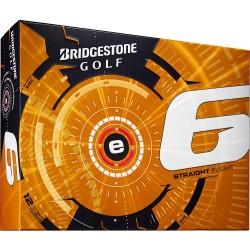 Bridgestone e6 Straight Flight Logo Golf Balls