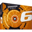 Bridgestone e6 Straight Flight Logo Golf Balls