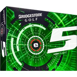 Bridgestone e5 High Flight Logo Golf Balls