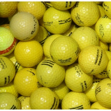 Factory Mix Range Balls Mix Stripes UR 18 - Yellow Black Stripe