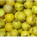 Factory Mix Economy Range Balls Mix Stripes UR 18 - Yellow Black Stripe