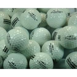 Pinnacle Used Range Ball UR 25 Green Stripes