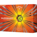 Callaway Superhot Yellow Logo Golf Balls