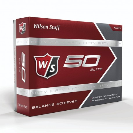 Wilson Staff 50 Elite Logo Golf Balls
