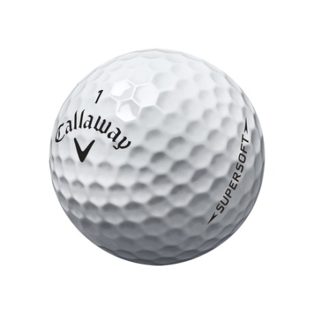 Callaway Supersoft Used Golf Balls A Grade