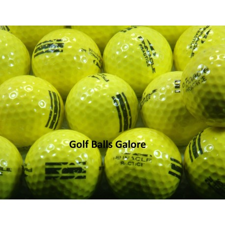 Pinnacle Used Practice Ball Yellow UR 25