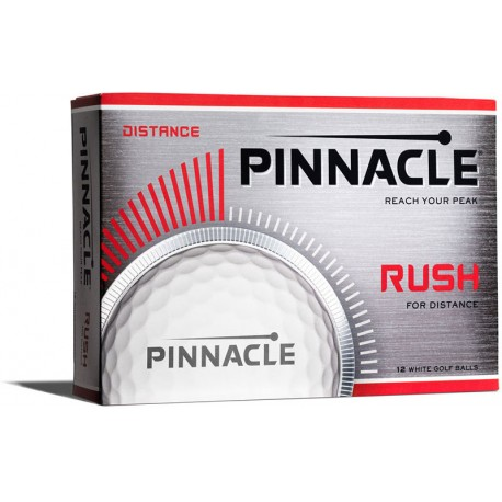 Pinnacle Rush Logo Golf Balls 12 Pack