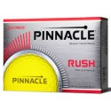 Pinnacle Rush Yellow Logo Golf Balls 12 Pack