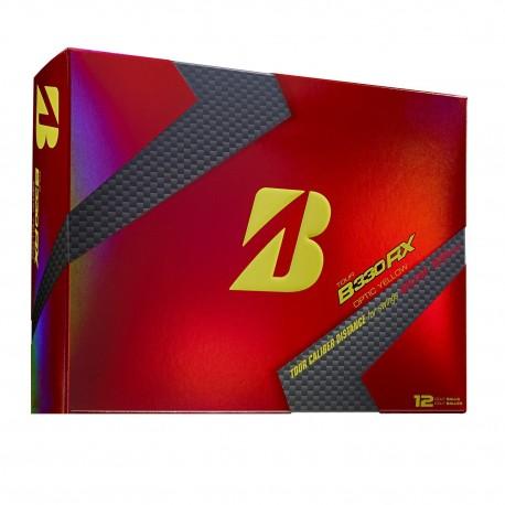 Bridgestone Tour B330 RX Yellow Logo Balls