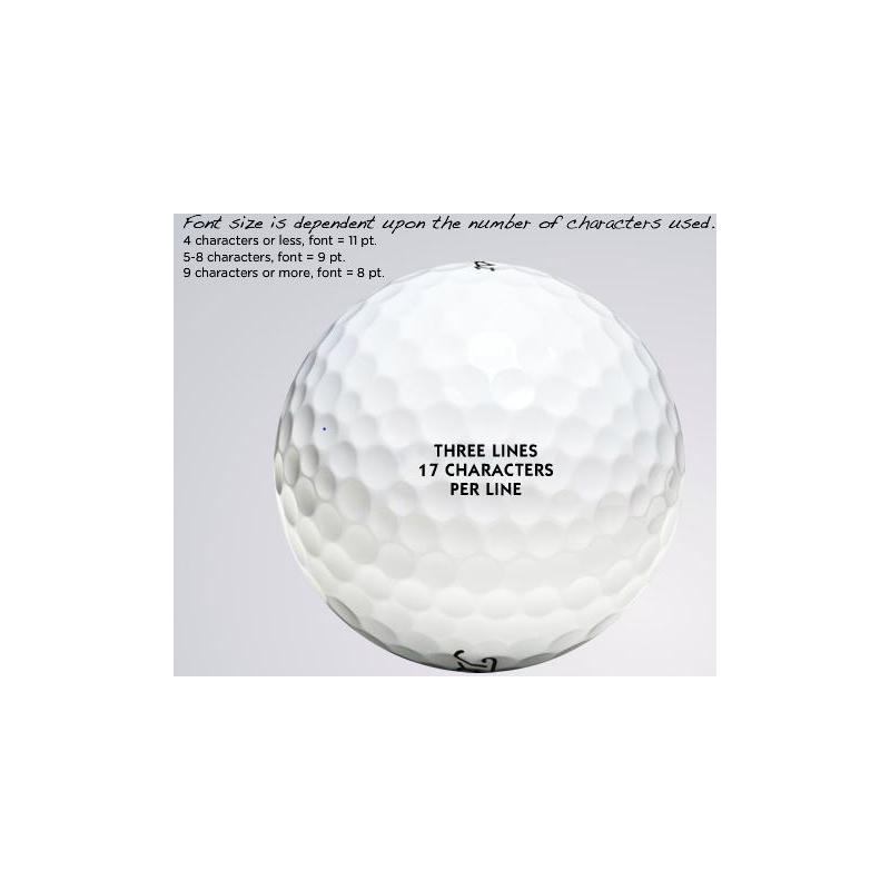 how to order titleist custom golf balls