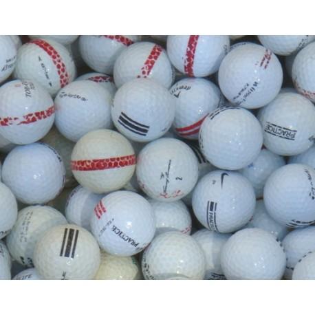 Factory Mix Used Range Balls Mix Stripes UR-18