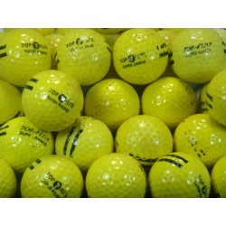 Top-flite Used Yellow Super Range Balls UR 18