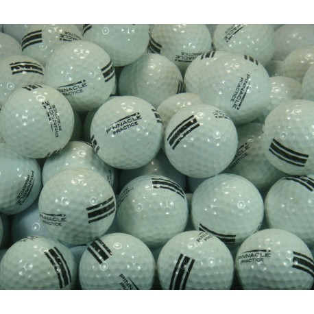 Pinnacle Used Practice Ball UR 30 White with Black Stripe