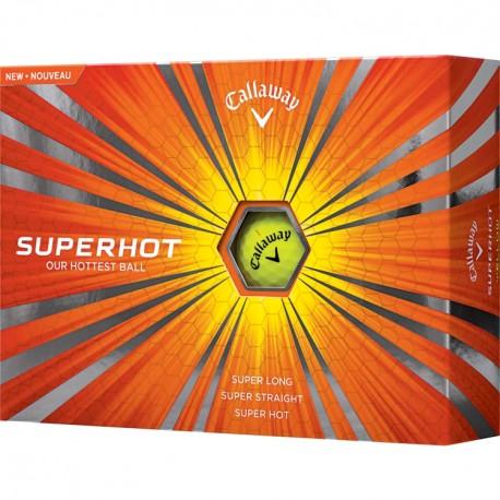 Callaway Superhot Yellow Logo Golf Balls
