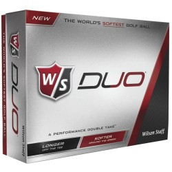 Wilson Staff Duo Logo Golf Balls