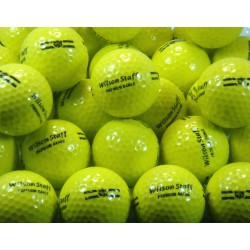 Wilson Staff Used Factory Yellow Range Balls UR-27