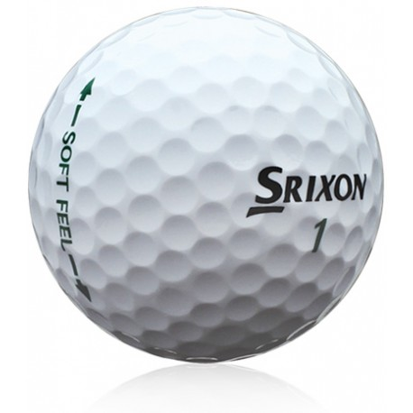 Srixon Soft Feel Used Golf Balls Value Grade