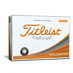 Titleist Velocity Double Digit Logo Golf Balls
