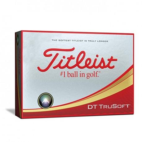 Titleist DT TruSoft Logo Golf Balls