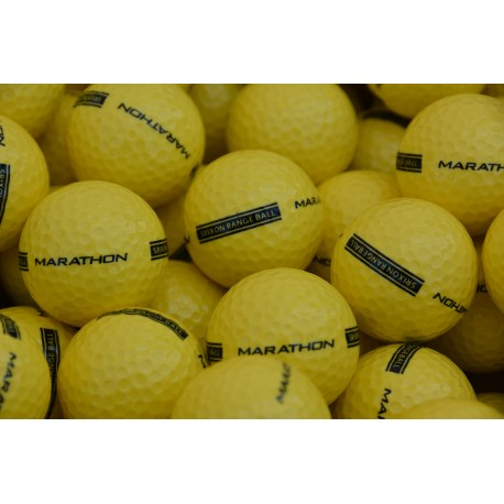 New Marathon Srixon Range Balls 2-PC Yellow