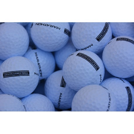 New Marathon Srixon Range Balls 2-PC White