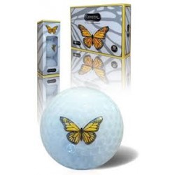 New Crystal Lady Butterfly Golf Balls