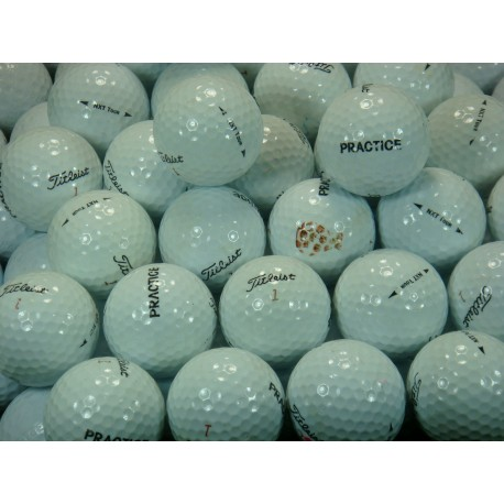 Titleist Used Practice Balls No Stripe UR 450